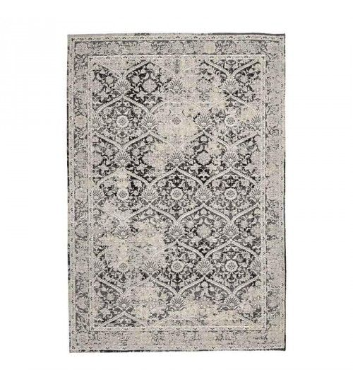 CHENILLE CARPET IN GREY_BEIGE COLOR 150Χ210