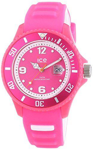 Ice-Watch Damen-Armbanduhr Ice-Sunshine Analog Quarz Silikon SUN.NPK.S.S.14 - http://uhr.haus/ice-watch/ice-watch-damen-armbanduhr-ice-sunshine-analog-s-s