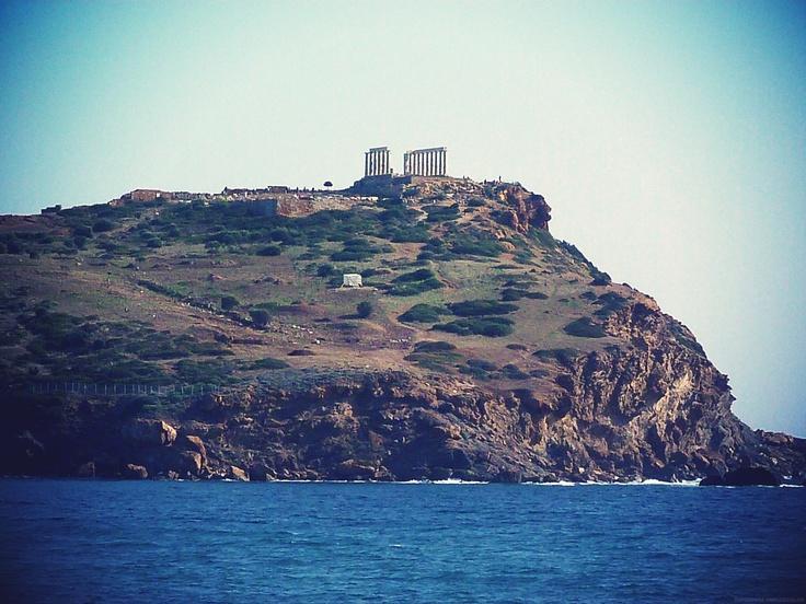 #Temple of Poseidon, Sounio, #Greece