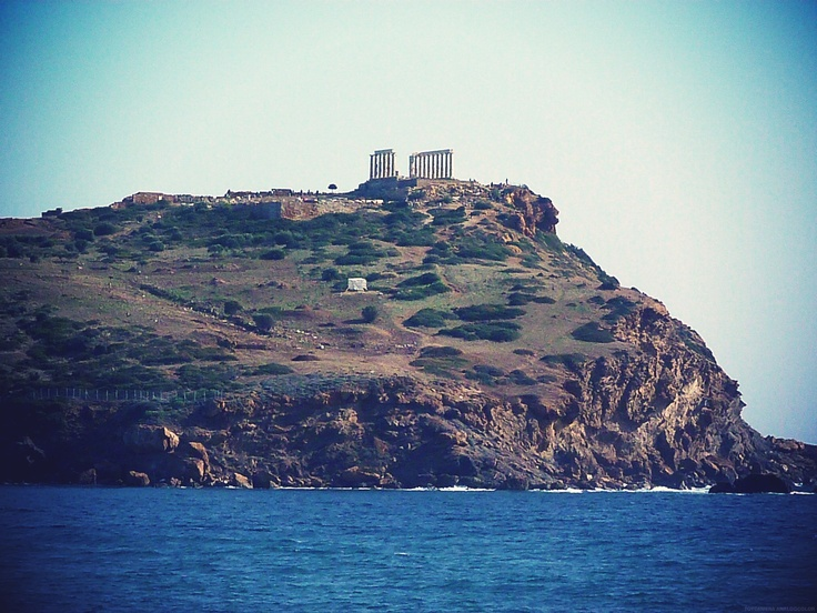 #Temple of Poseidon, Sounio, #Greece