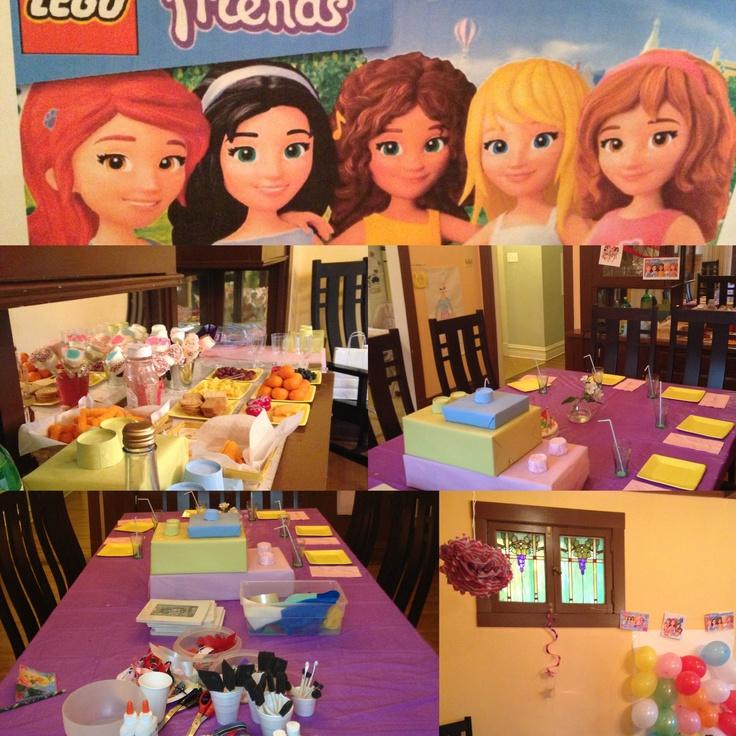 51 Best Lego Friends Party Images On Pinterest