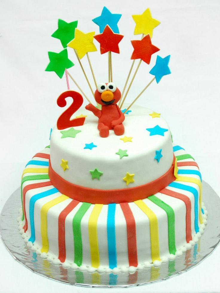Pastel de Elmo por Elsy's Cakes