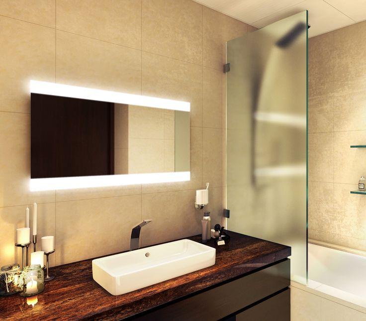Best 25 Illuminated Mirrors Ideas On Pinterest