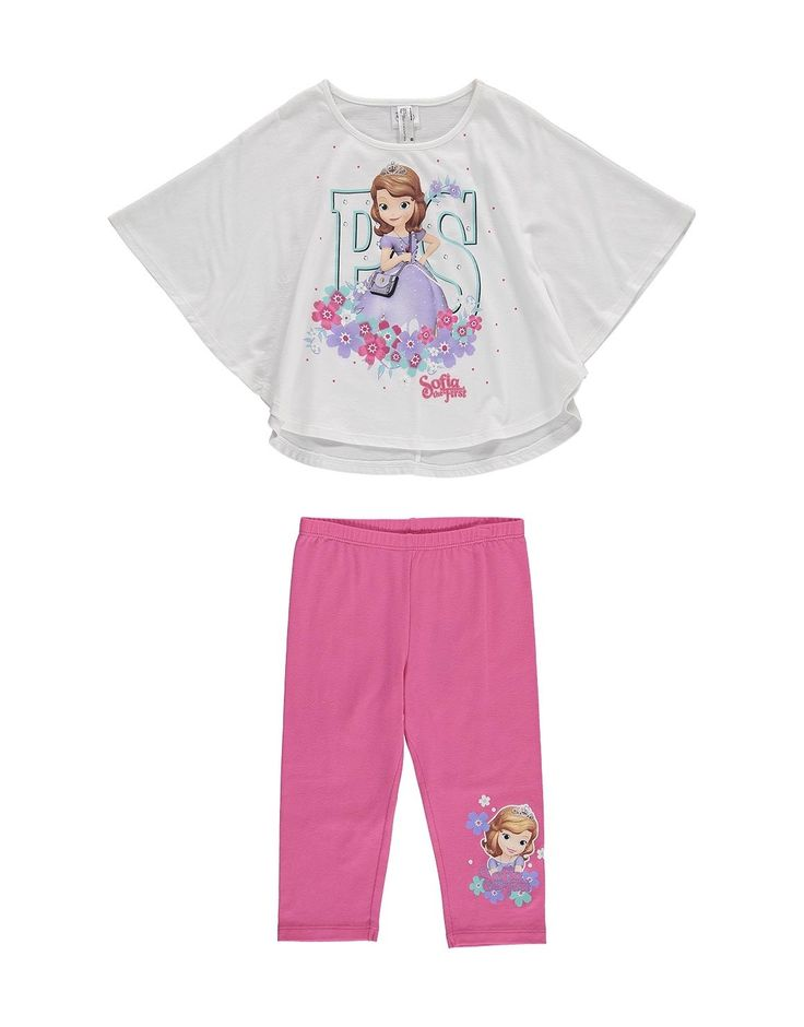Sophia the First Top & Pants 2 Piece