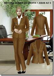 model pakaian dinas wanita terbaru (3)