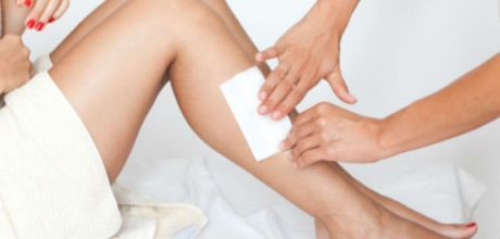 Hair Removal with Waxing