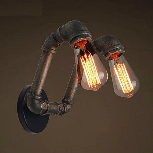 15 les meilleures images concernant lampes galva lampe tuyau sur pinterest industriel. Black Bedroom Furniture Sets. Home Design Ideas