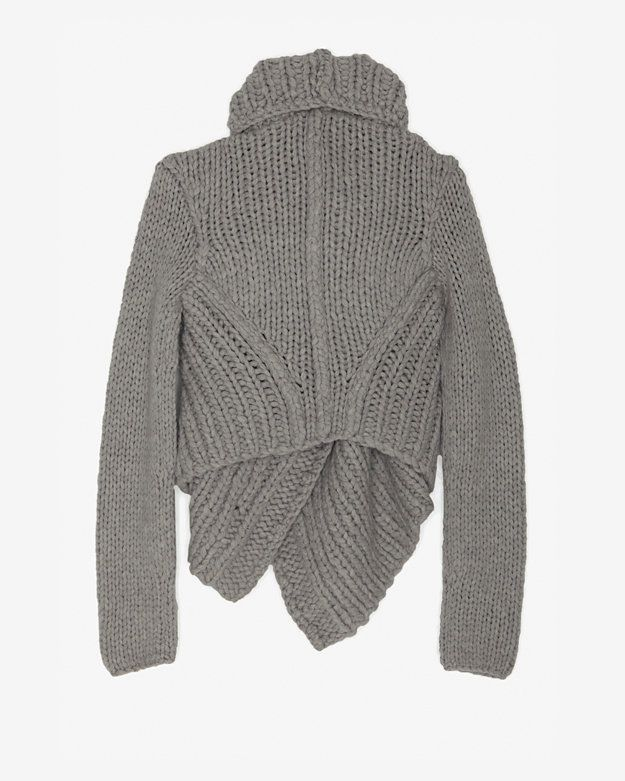 HELMUT LANG AUGMENTED WOOL THROW