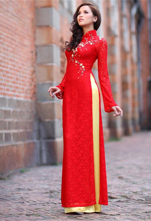 Elegant Crochet Beautiful Vietnam Dress For Women  Make Handmade Crochet