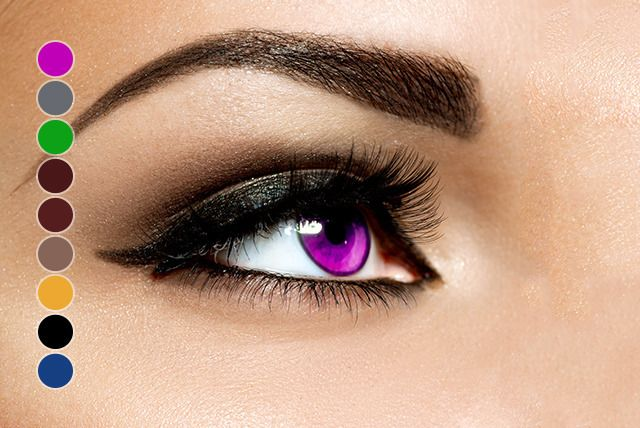 90-Day Coloured Contacts