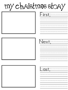 Free Christmas writing activity. Has prompt cards