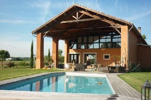MAISON DE PRESTIGE, en campagne avec piscine chauffée, à 5 Km de Montauban - Tarn-et-Garonne | Abritel 15 pers 2800€ HS