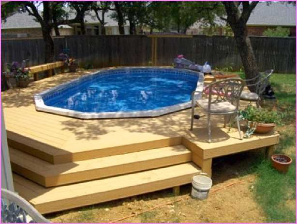 25 best ideas about above ground pool kits on pinterest for Above ground pool decks tampa