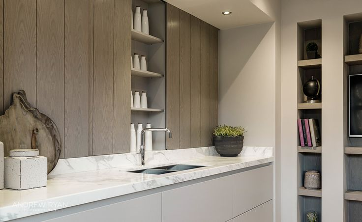 City Mews, a Contemporary Kitchen by AndrewRyan.ie. Craftsmanship since 1973.