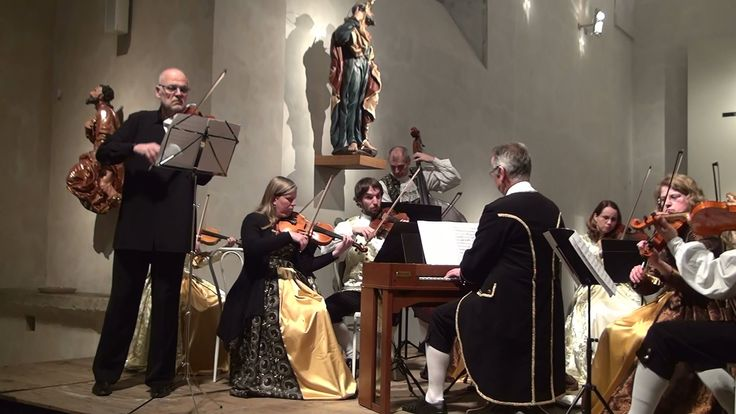 Jan Václav Stamic (J. W. Stamitz) Violino Concerto á 5 no.4 F dur 1. All...