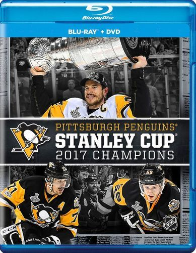 NHL: Stanley Cup 2017 Champions - Pittsburgh Penguins [Blu-ray] [2 Discs] [2017]