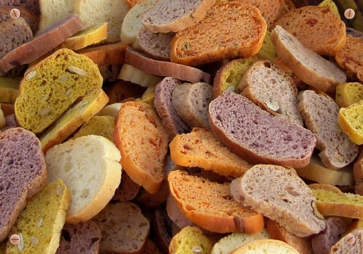 Wood Oven bread bites