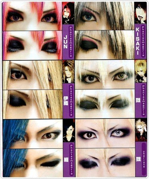 visual kei makeup   Tumblr