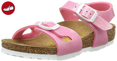Birkenstock Rio Unisex-Kinder Sandalen, Pink (Magic Galaxy Pink), 38 EU (5 UK) - Birkenstock schuhe (*Partner-Link)