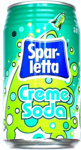 Sparletta (soda from South Africa)