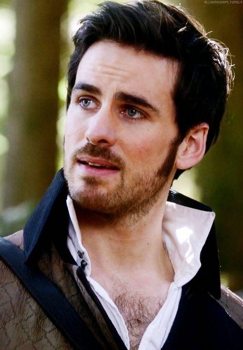 Once upon a time - Captain Hook - Colin O'donoghue - Killian Jones - OUAT
