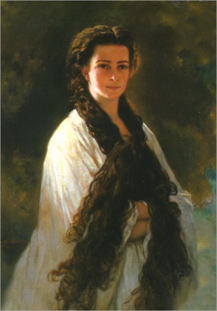 By FRANZ XAVER WINTERHALTER - SISSI  My favorite painter and ...