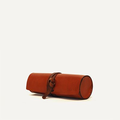 ALVADOS PENCIL CASE - Brown Arizona // 100% Portuguese vegetable tanned leather.