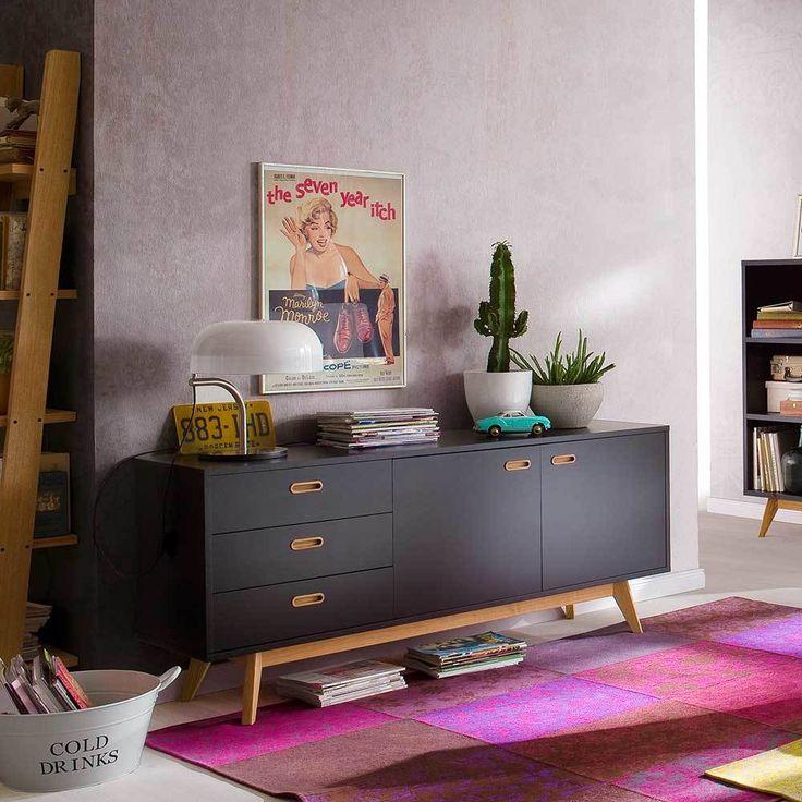 Die besten 25+ schwarze Kommoden Ideen auf Pinterest Vintage - wohnzimmer schwarz