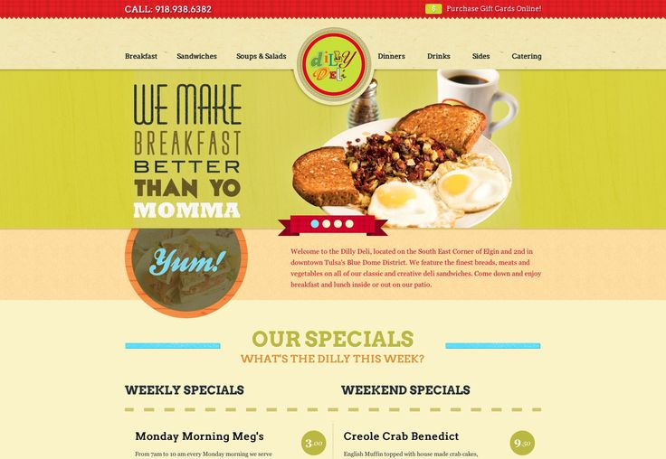 15+ food and restaurant web designs photo