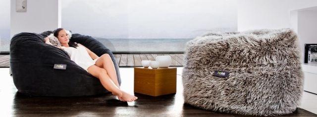 Sitzpuff Design-fatsak Sitzkissen-Möbel lounge