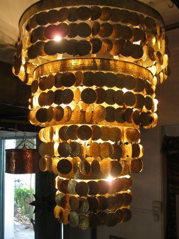 Les 17 meilleures id es de la cat gorie lampes suspendues for Lustre en cuivre