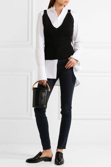 J Brand - Maria High-rise Skinny Jeans - Dark denim - 28