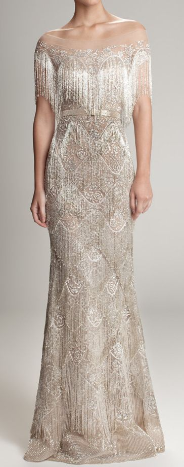 Gorgeous deco gown!