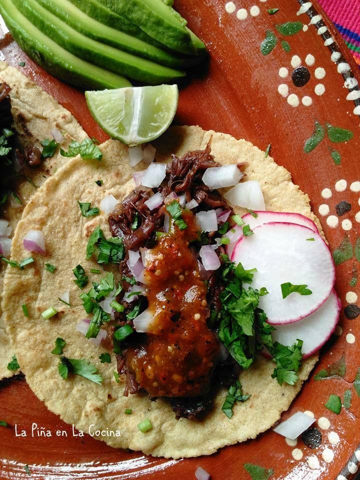 Slow Cooker Beef Barbacoa-Barbacoa de Res   La Piña en la Cocina