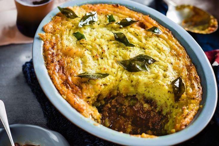 Curry-spiced shepherd's pie