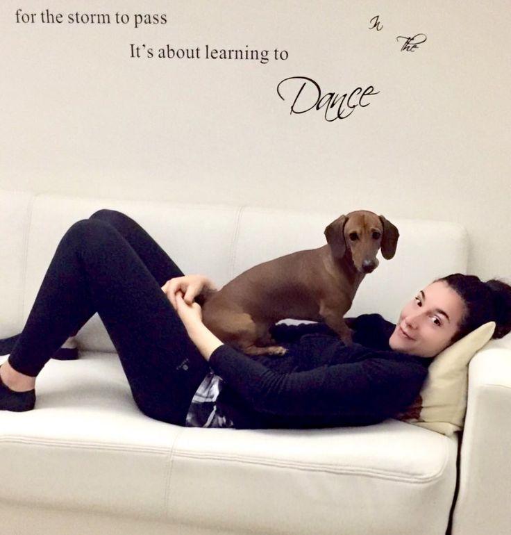 Tanto amore #love #dog #dachshound #cuddles #coccole