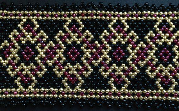 18k gold collection  pattern 1 by Vixenscraft on Etsy