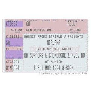 Nirvana Ticket