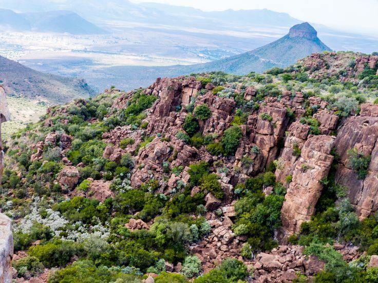 Towards Spandaukop, Valley of Desolation