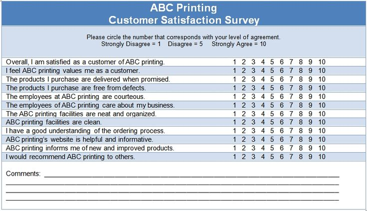 Customer Satisfaction Survey ISO Template Projects to Try - free customer satisfaction survey template