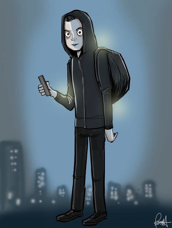 Mr. Robot is awesome. I did this as a morning warmup on 9/29/15, and people really seemed to like it. So now you can get this as a print. This print measures 8.5 x 11 and is suitable for framing.
