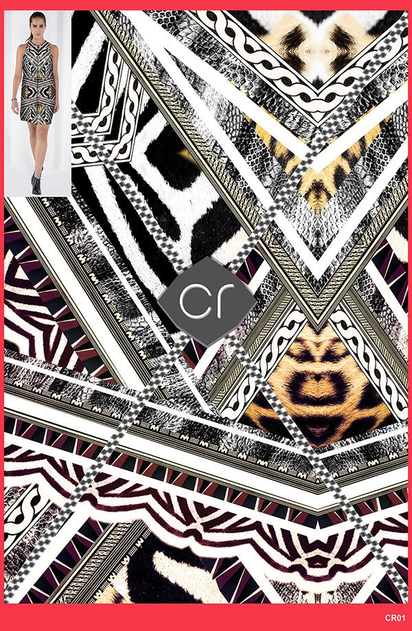 Coleção criada para o Trabalho de Conclusão do curso de Pós-Graduação em Criação de Estampa Têxtil da FACAMP. O objetivo era criar estampas para a marca nacional Shoulder, usando como referência tendências de desfiles internacionais e analisando as últimas coleções de verão que estiveram nas lojas. As estampas foram aplicadas no Photoshop em uma das imagens de divulgação da marca.  #print #design #pattern #inspiration #diesel #resort2016