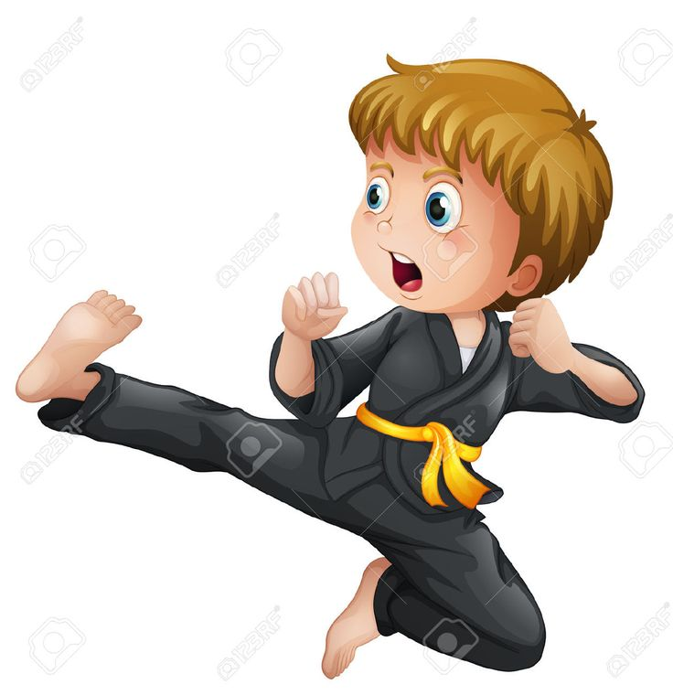 Karate Clipart Free