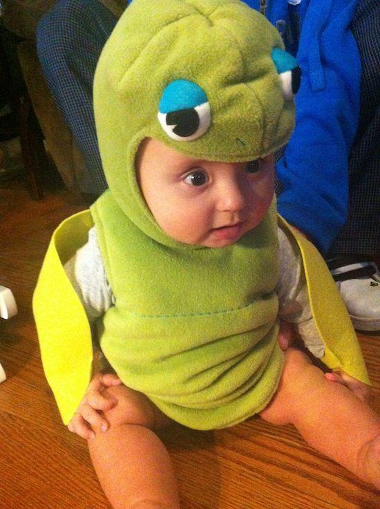 Pottery Barn Kids Baby Sea Turtle Costume