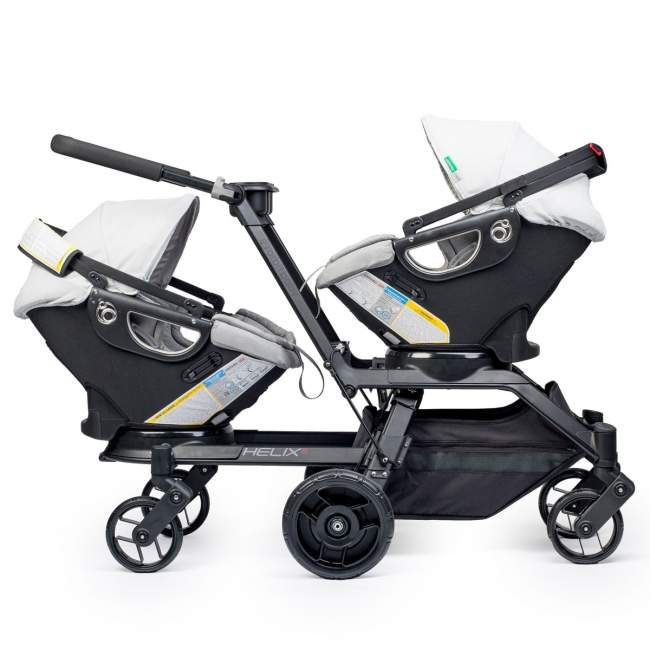 Orbit Baby Double Helix Stroller $1630... Pricey, but by far best double stroller for twins! I will be getting this soon :)