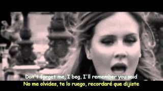 Adele - Someone Like You (Lyrics & Sub Español) Official Video - YouTube