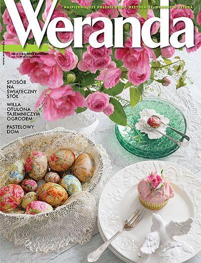 Okładka magazynu Weranda 4/2013 www.weranda.pl