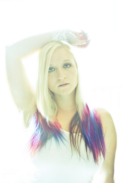 dip dyed hair!