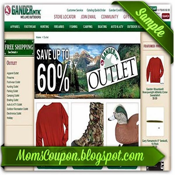 Gander Mountain coupons 10 off 50 2015