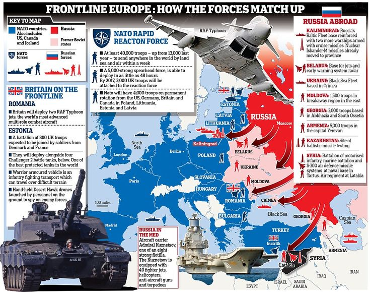 The UK is sending 800 troops to Estonia as part of a Nato reaction to Russian aggression i...